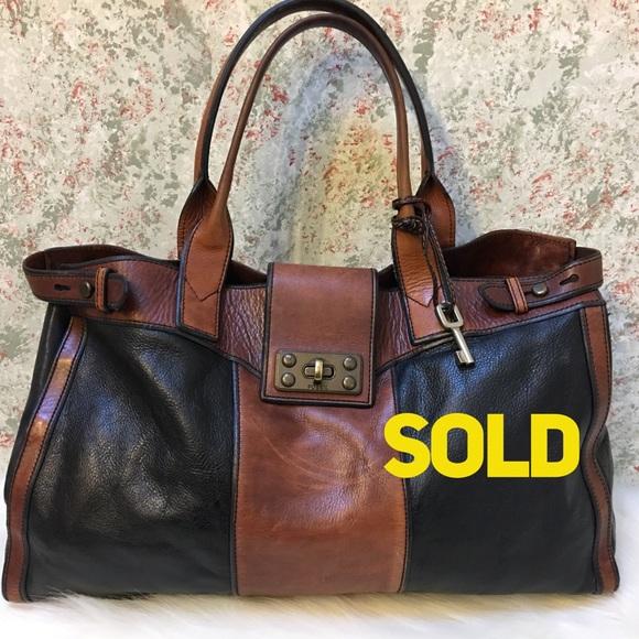 Fossil Handbags - SOLD!! FOSSIL Large Vintage ReIssue Travel Bag
